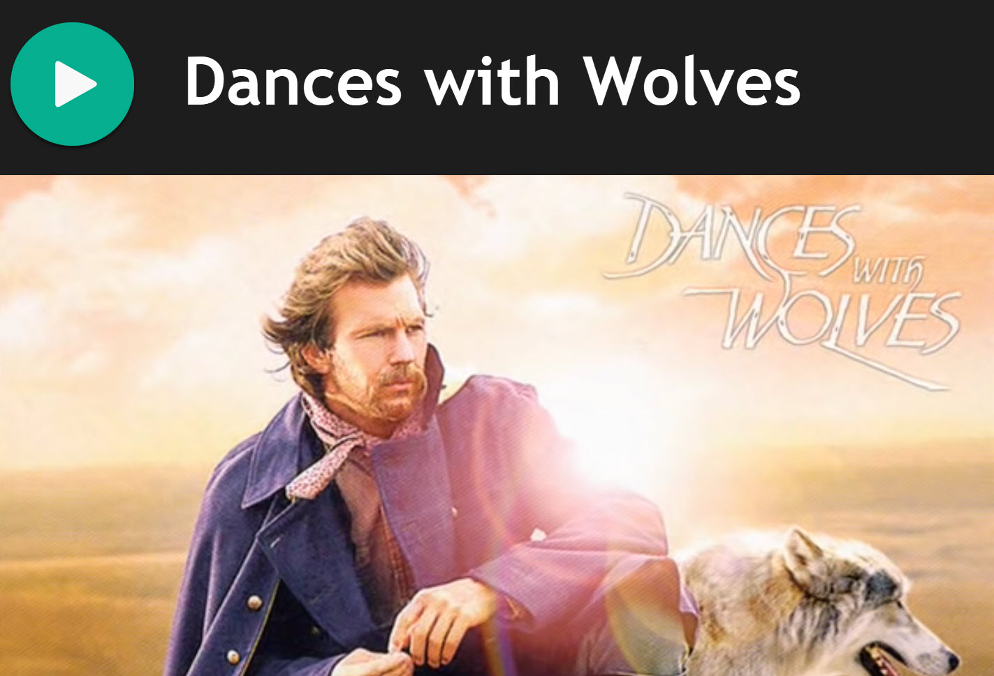 Dances with Wolves for Practise Chanter