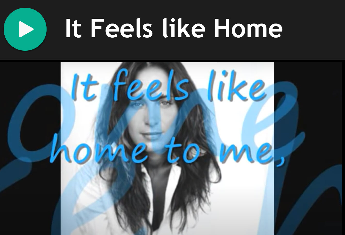 Feels like Home by Randy Newman for Bagpipes
