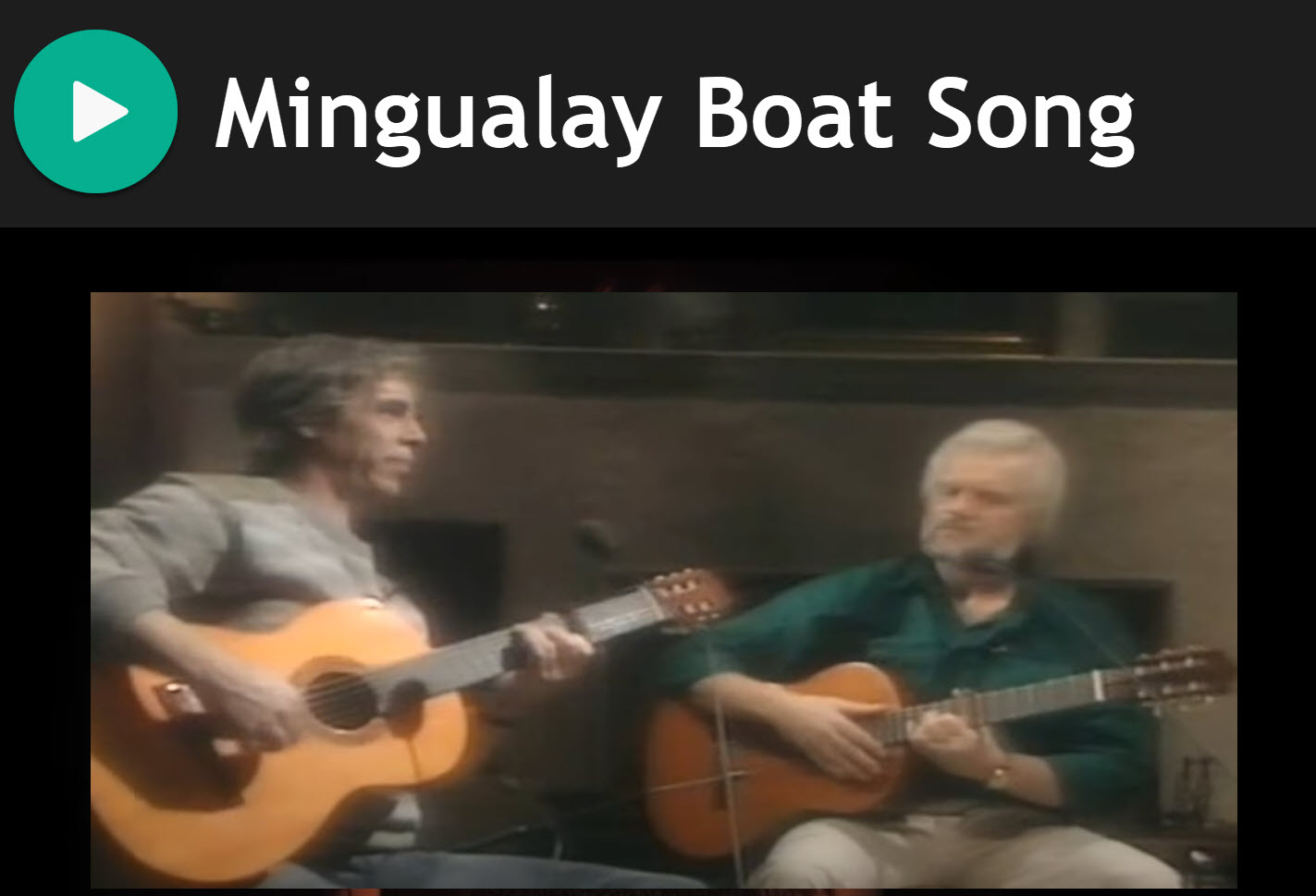 Mingualay Boat Song for Bagpipes