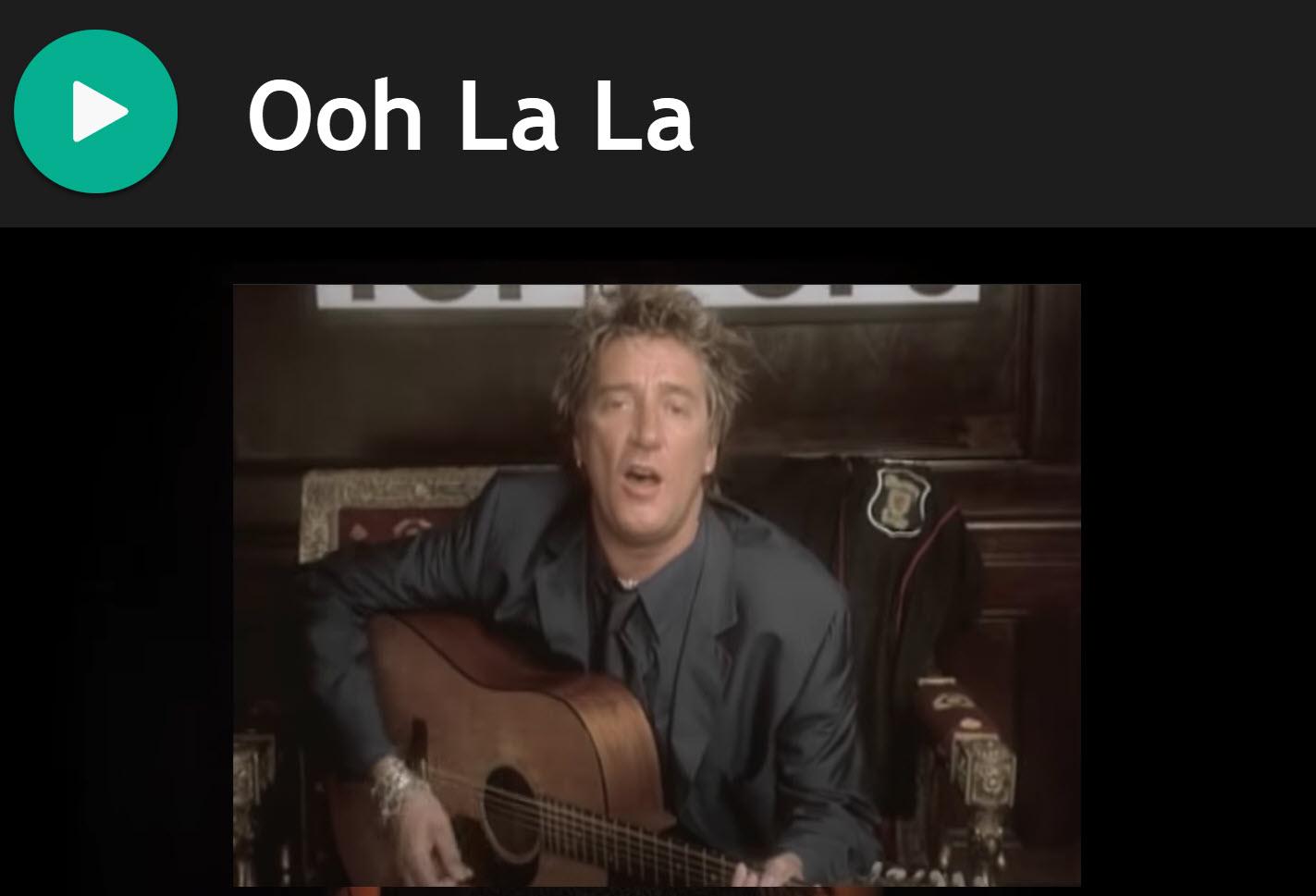 Ooh La La by Rod Stewart for Smallpipes