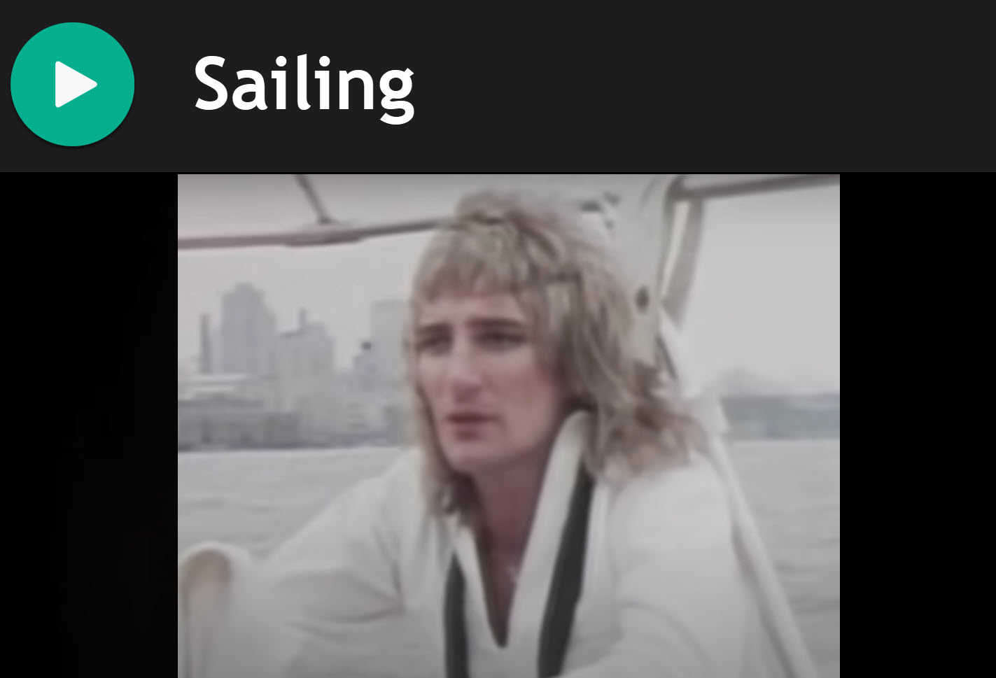 Sailing by Rod Stewart for Bagpipes