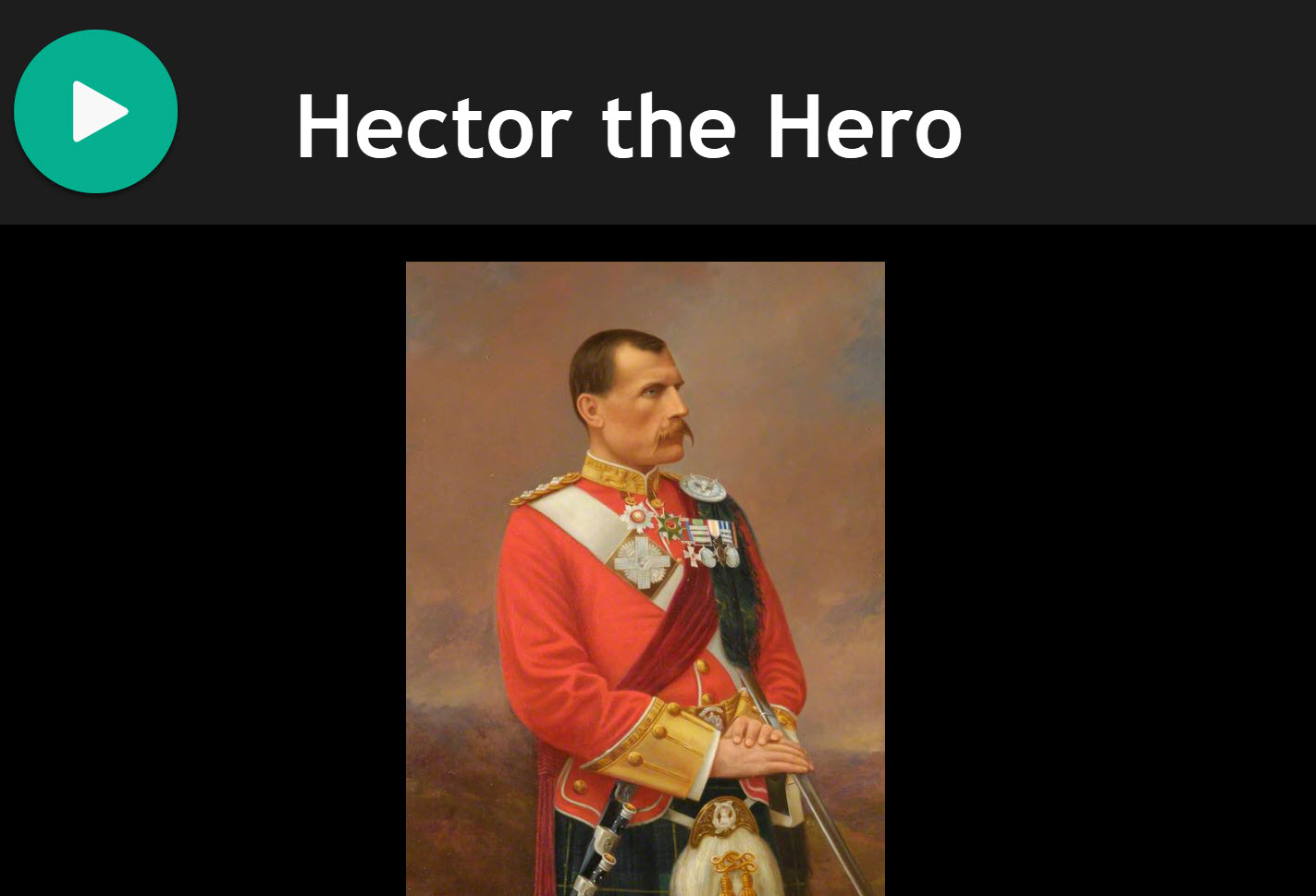 Hector the Hero for Bagpipes