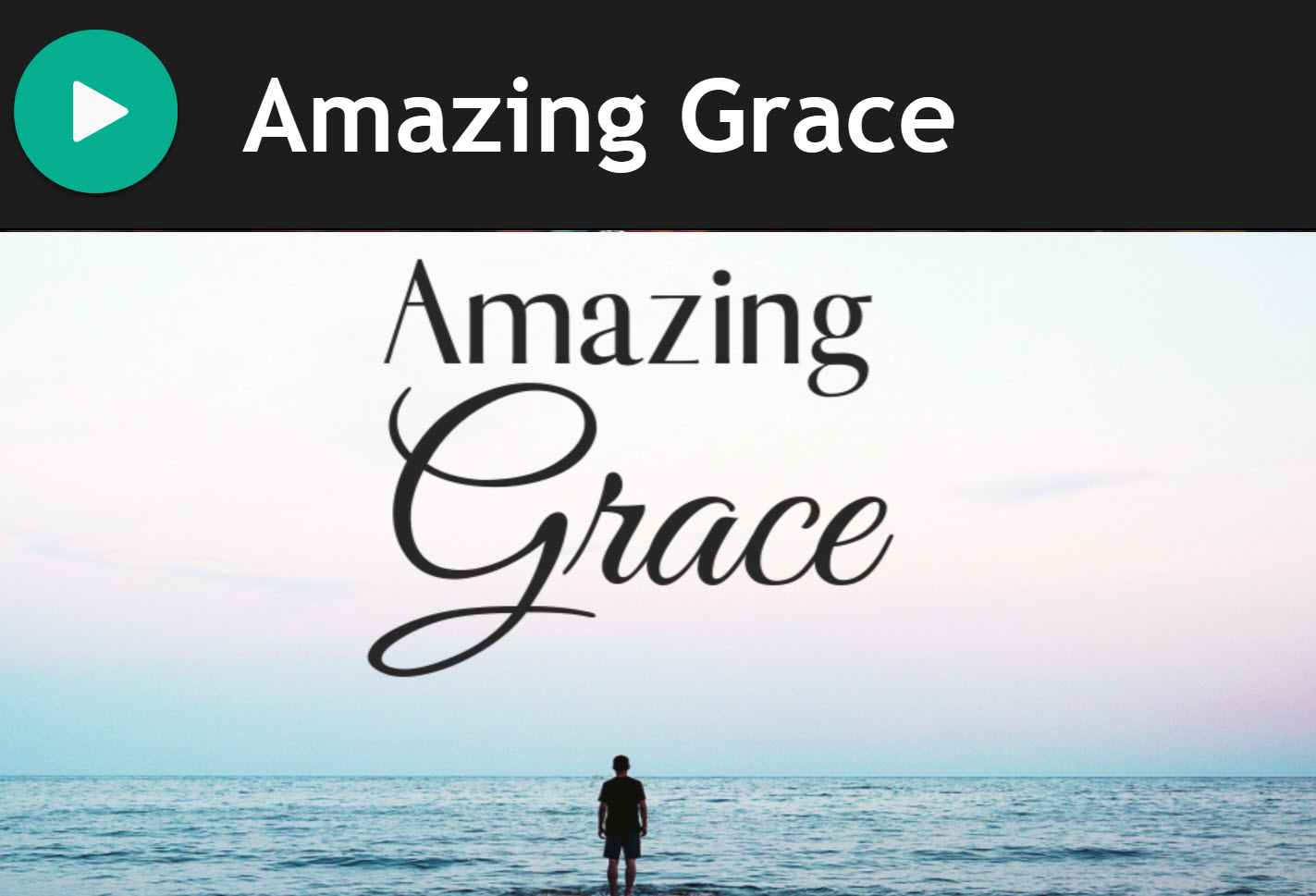 Amazing Grace for Bagpipes